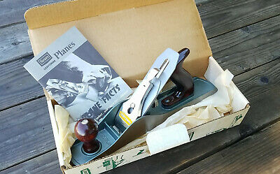"Vintage NOS Sears Craftsman 14"" Smooth/Jack Plane with Box GREAT"
