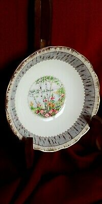 Royal Albert Silver Birch Bone China Cereal Bowls Approx 6 1/2 Inches. 7...