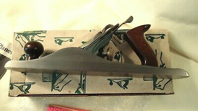 "VINTAGE CRAFTSMAN No. 37065 STEEL BENCH JACK PLANE 14"" long Made In USA W/ BOX"