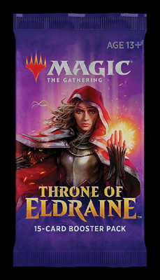 Magic The Gathering Throne of Eldraine Booster Box 36 Packs MTG Trading Cards