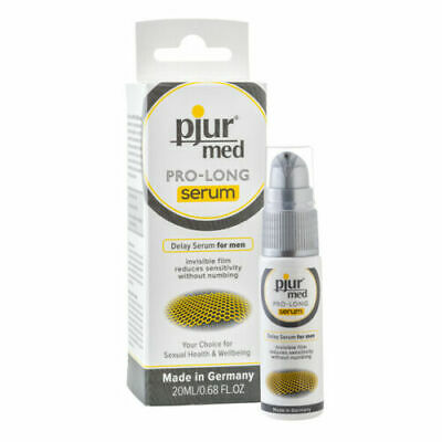 PJUR MED - Serum, Spray & Glide - Water Based Silicone Natural Intimate Lube