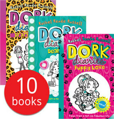 New Dork Diaries Collection - 10 Books