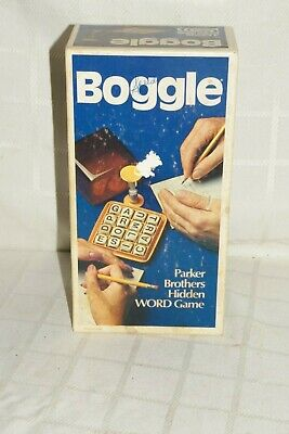 1976 Boggle Game Complete