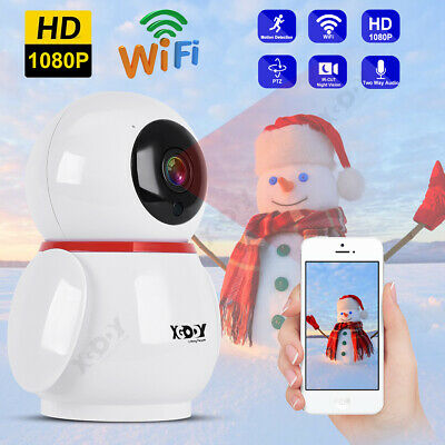 XGODY 4PCS 1080P HD Outdoor Security IP Camera WiFi 4X Zoom CCTV Night Vision UK