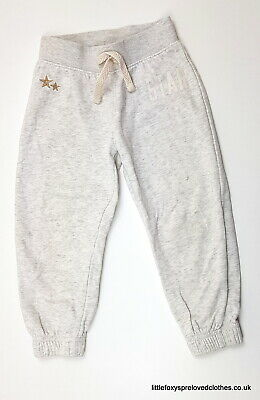 3 years stylish light grey Next girls joggers very good condition