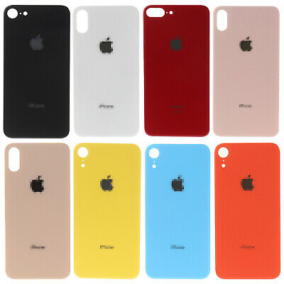 For iPhone 8 X XR XS Max Battery Cover Glass Housing Rear Back Door Replacement