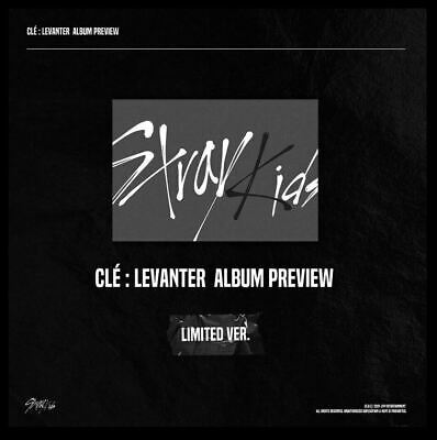 Stray Kids -Cle Levanter Limited Edition +Preorder (+/- Poster) [Kpoppin Usa]