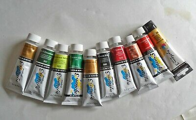 Daler Rowney System 3 Acrylic paints 10x75ml New tubes. Various colours.