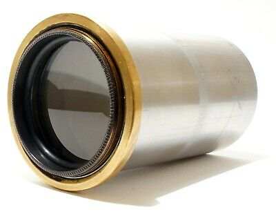 Petzval Type 12 Inch Brass Projection Lens | SN: 2296 | 4E