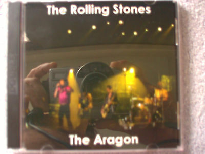 Rolling Stones Live 2 CD set  The Chicago Aragon 2002