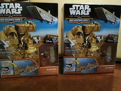 Star Wars The Force Awakens Micro Machines First Order Stormtrooper Playset,( 2)