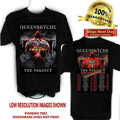 Queensryche 2020 The Verdict Concert t shirt Sizes S to 6X