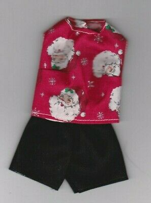 Doll Clothes-SUMMER-Sleeveless Blouse and Shorts that fits Barby 31