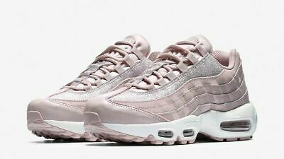 Nike Air Max 95 SE Glitter Shoes At0068 600 Particle Rose
