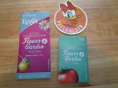 Walt Disney World 2019 Annual Passholder Daisy Duck Magnet From EPCOT Official