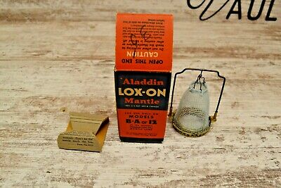 ALADDIN LOX-ON Mantle For Use On Models B-A or 12 In Original Box