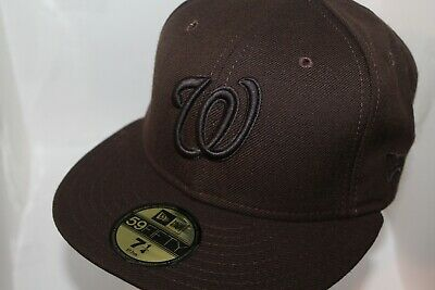 Washington Nationals MLB New Era Basic Solid 59Fifty,Cap,Hat      $ 37.99  NEW