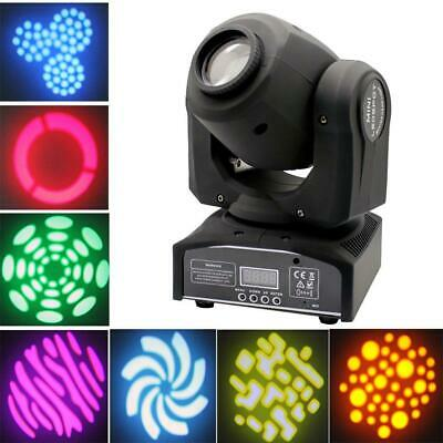 60W RGBW SPOT Gobo LED Stage Lights Moving Head DMX Disco DJ Party Lighting