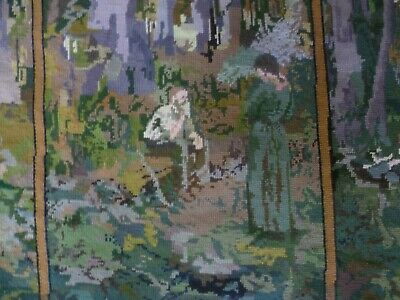 Vintage Quality Tapestry Baxtergrafik The Pioneer Aust. Worked Ready To Frame