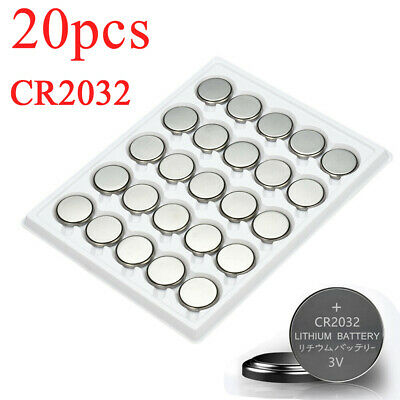 20PCS CR2032 CR 2032 3 Volt Button Cell Coin Battery for Toys Watch Remote New