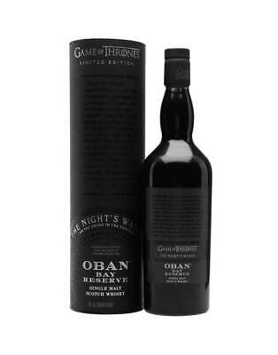 Game of Thrones The Night's Watch – Oban Bay Reserve 700ml @ 43 % abv
