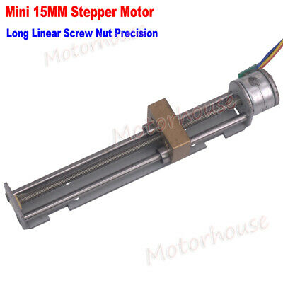 90mm Long Linear Screw Nut Slider 5V 2-phase 4-wire 15mm Stepping Stepper Motor