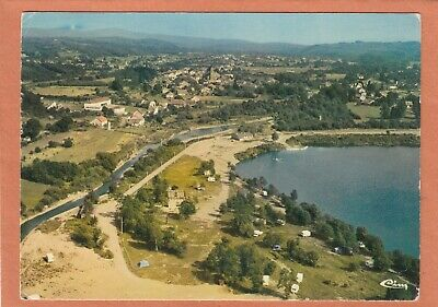 2514 - Champagney - Vue Aerienne Camping Les Ballastieres - Ecrite