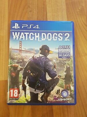 Watch Dogs 2 (Sony)(PS4)(Playstation 4)