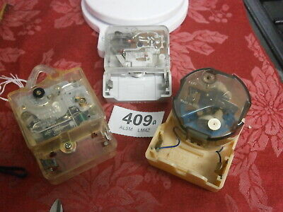 Electronic Quartz Clock Movements x 3 Battery Mantle wall parts spares 409A