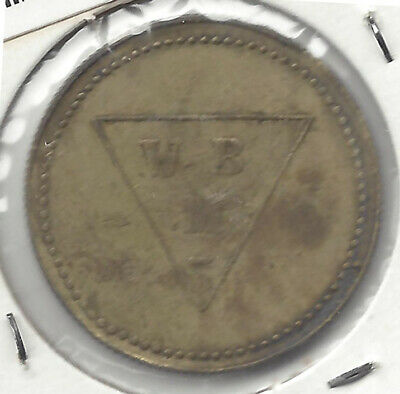 W M B 2D No Chair No Barber Shop Token Used In Australia