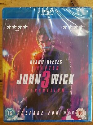 John Wick: Chapter 3 - Parabellum [2019] (Blu-ray) Keanu Reeves, new sealed