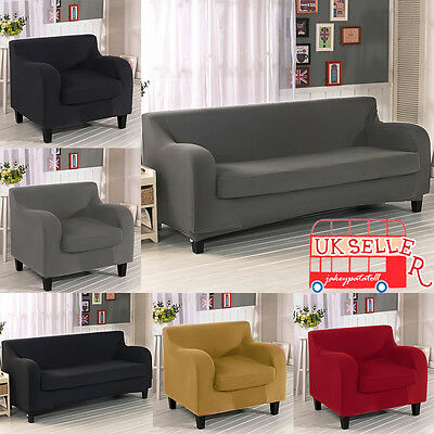 2/3 Seater Elastic Sofa Covers Slipcover Settee Stretch Floral Couch Protector