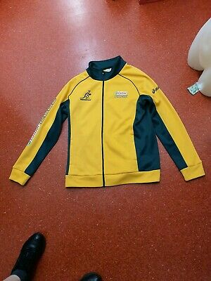 Australia Wallabies  Rugby Union Track Jacket Mens Size L
