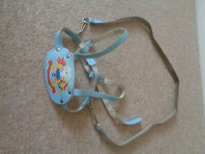 Vintage Clippa Safe Hygenic Nursery Harness blue