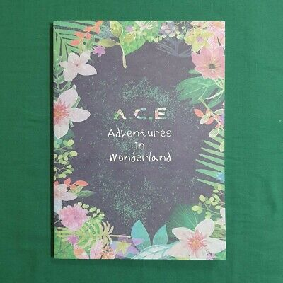 [Pre-Owned/No Photocard] A.C.E Adventures in Wonderland Night ver - CD/ Booklet