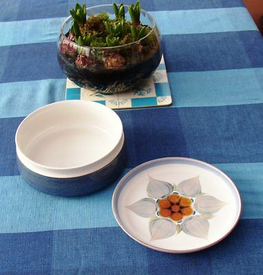 Denby Chatsworth large serving bowl and salad plate