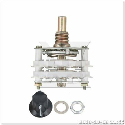 Selector Rotary Switch Middle 2 Decks 4 Poles 4 Positions