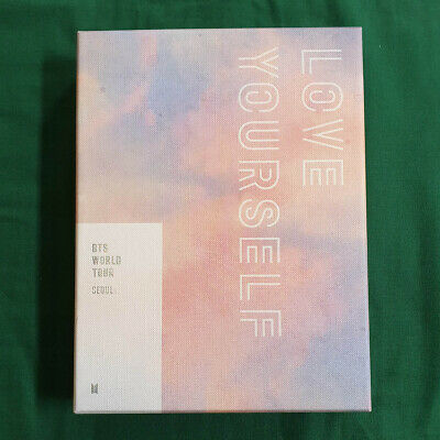 [Pre-Owned/ No Photocard] BTS Love Your Self Tour Seoul DVD Genuine Kpop