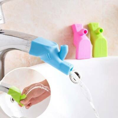 Silicone Spout Cover Baby Kids Bath Safety Protector Bathtub Faucet Extender LH
