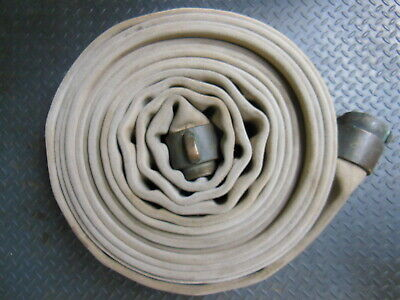 "Akron FIRE HOSE 3"" x 50 ft. with heavy NH Brass Couplings"