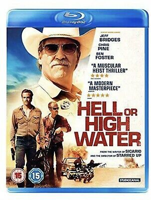 Hell Or High Water Bluray ( Brand New/sealed)