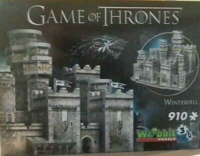 3D Puzzle Games Of Thrones  Winterfell  910 Teile
