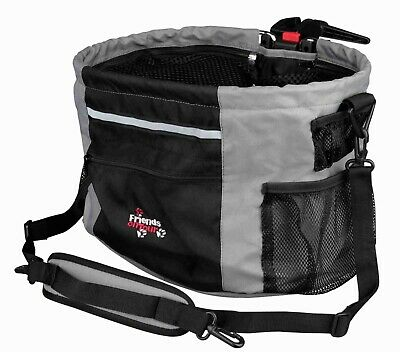 Trixie Dog Puppy Biker Box Bag/carrier for bike travel with pets easy removable