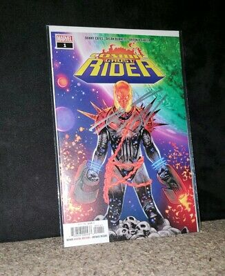 """Cosmic Ghost Rider #1! Signed By Writer Donny Cates At Nycc """"19"""