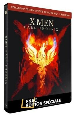 X-Men : Dark Phoenix Steelbook Edition Spéciale Fnac Blu-ray 4K Ultra HD