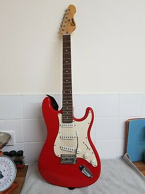 Encore ST HSS  6 String Electric Guitar Antique Red Great starter guitar