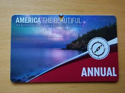 U.S. National Parks 'America The Beautiful' Annual  Pass - expires Sept 2020