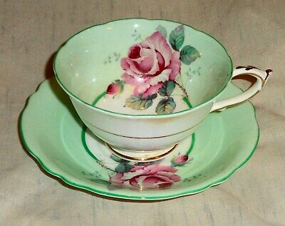 Vintage Cup and Saucer Set Fine Bone China Paragon HM The Queen & HM Queen MA !!