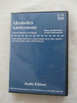 Alcoholics Anonymous - Big Book (4th edition) - Audio Edition - 6 c.d.'s.