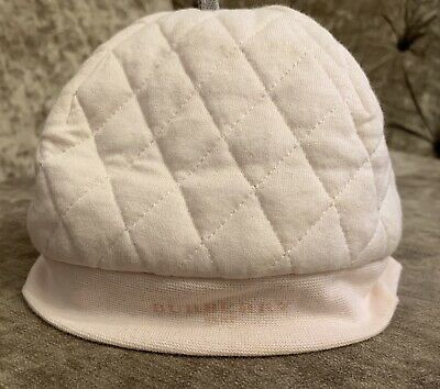 Burberry Baby  Girls Pink Hat